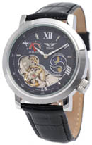 Minoir Uhren, Automatikuhr Modell Premiere schwarz