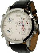 TRIAS Uhren - Quarz-Chronograph mit 3 Uhrwerken