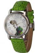 Disney Automatikuhr mit Kermit der Frosch aus der Muppet Show