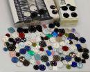 Posten Zifferblätter für Armbanduhren - 250 Stück
