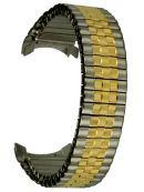 Flex-Band, Zugband  Edelstahl bicolor - Stegbreite 20 mm