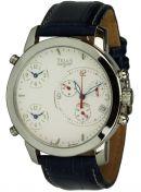 Uhren - Quarz-Chronograph mit 3 Uhrwerken