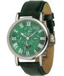 Uhren - grüne Automatik-Kalenderuhr