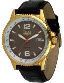 TRIAS Uhren - braune Unisex Automatikuhr