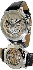 Uhren PROKURA Skelett Schaltrad-Chronograph