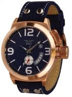 Minoir Uhren - Modell Barentin rotgold/blau Automatikuhr