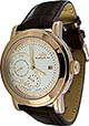 Lindberg & Sons Armbanduhr mit 24 Stundenanzeige