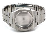 Edelstahl Uhrengehäuse Facettenglas Edelstahluhrenarmband