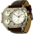 SwissStar Chronograph Modell Triple Time mit 3 Uhrwerken