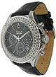 TRIAS Damen-Chronograph mit Strass-Steine