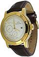 Elegante Lindberg & Sons Armbanduhr mit 24 Stundenanzeige