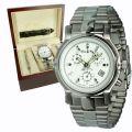 Emile Frey Automatikuhr - Uhrenset mit Wechselarmband