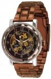 Minoir Uhren - Modell Laval - Skelettuhr rotgold